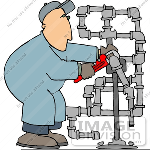 funny plumber clipart free
