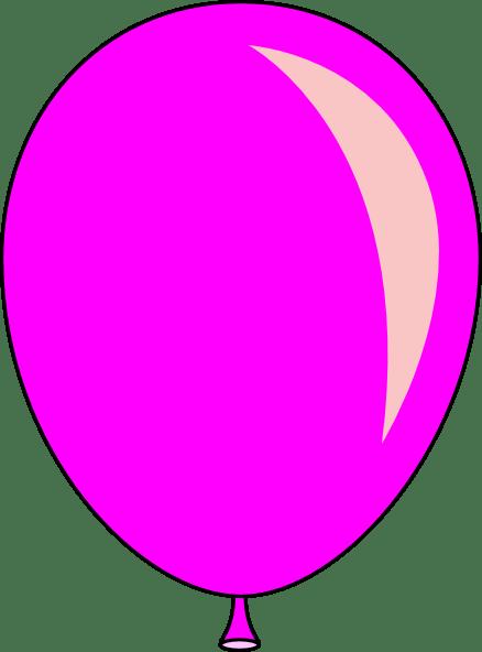 pink balloon clip art