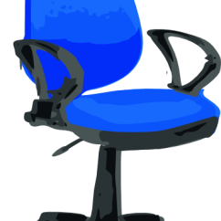Desk Chair Blue Folding Rental Chicago Clip Art At Clker Com Vector Online Royalty Free Download This Image As