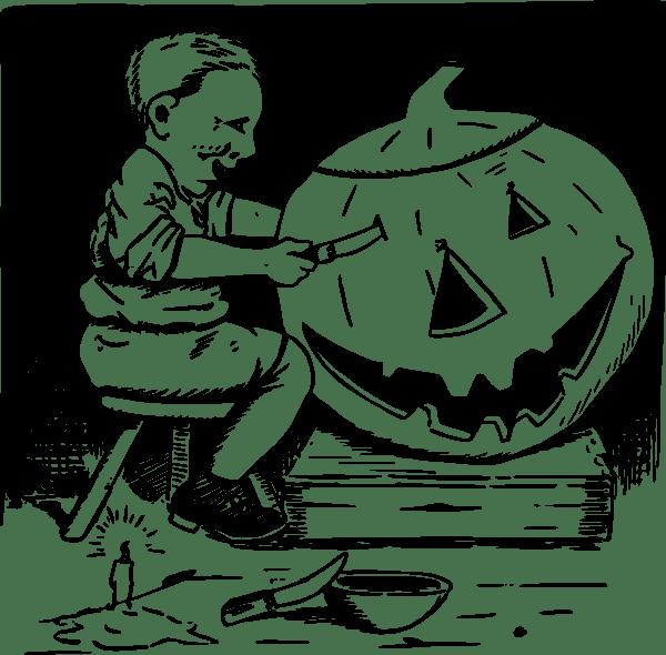 pumpkin carving clip art