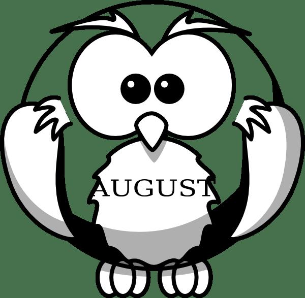 August clip art clkercom vector clip art online, love bug coloring pages
