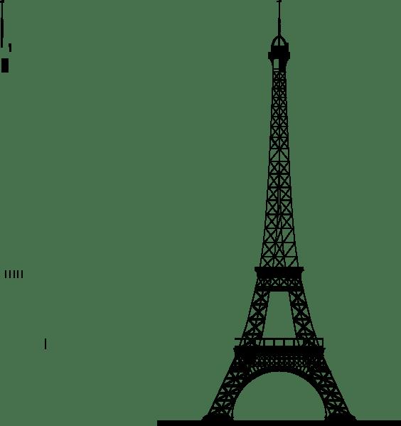 La Tour Eiffel (eiffel Tower) Clip Art at Clker.com
