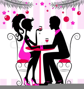 free clipart romantic dinner