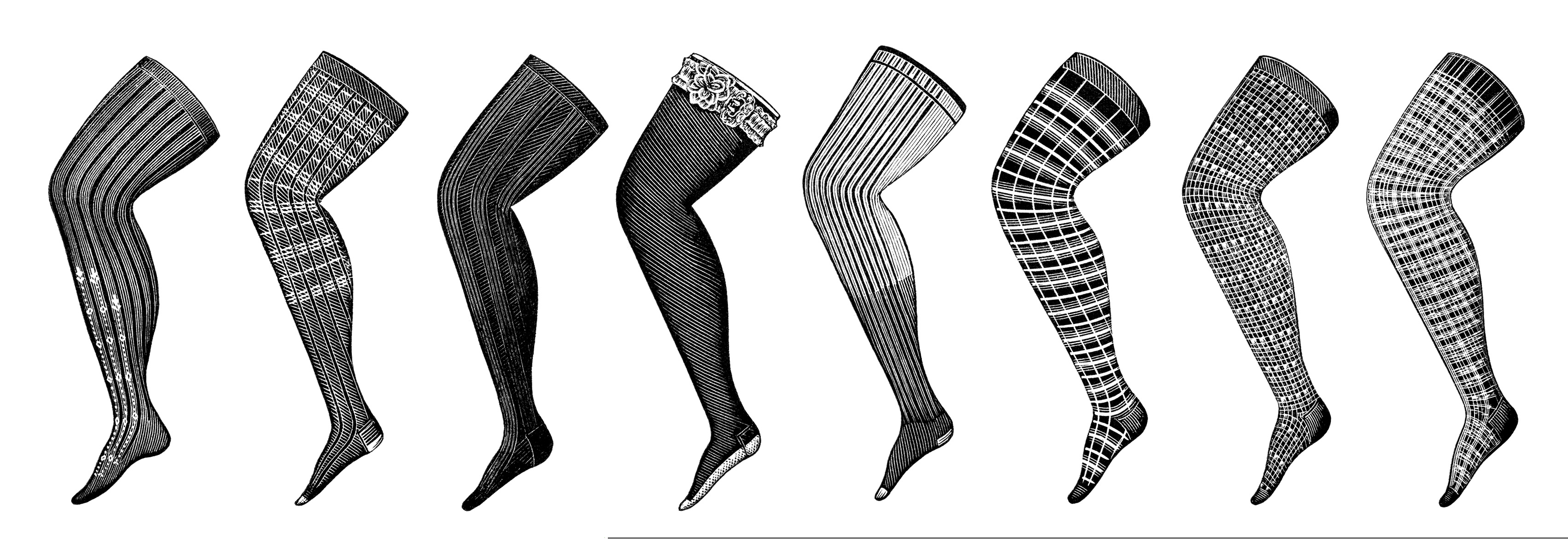 Leg Clipart Black And White