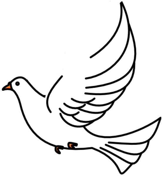 Dove Clipart Funeral Dove Funeral Transparent Free For