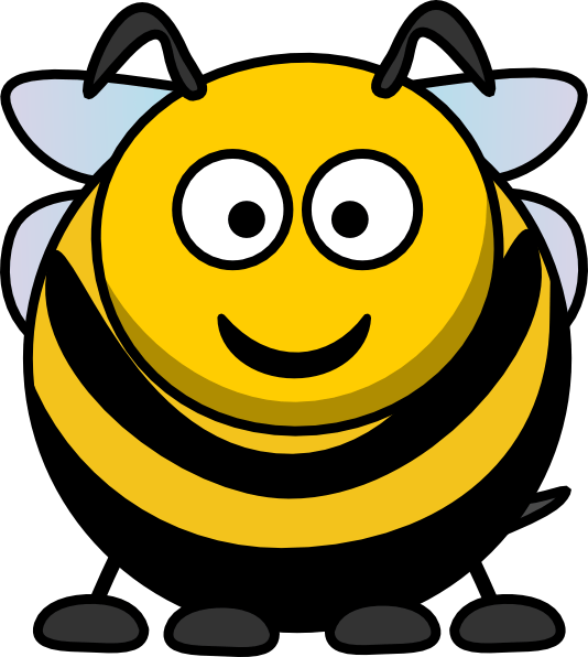 cartoon bee clip art