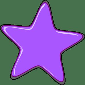 purple star editedr clip art