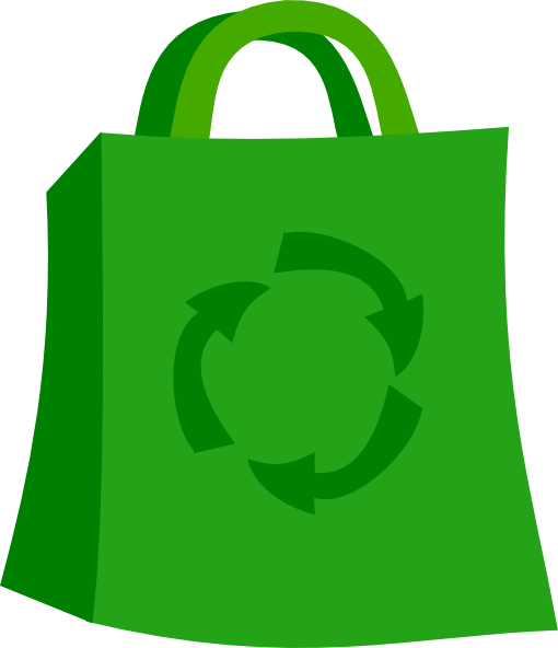 Recycle Grocery Bag Clip Art