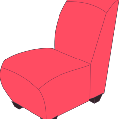 Pink Folding Chair Baby Bouncy Clip Art At Clker.com - Vector Online, Royalty Free & Public Domain