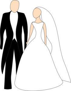 Bride And Groom Clip Art At Vector Clip Art