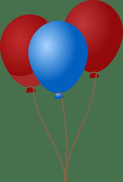 emmas blue balloons clip art