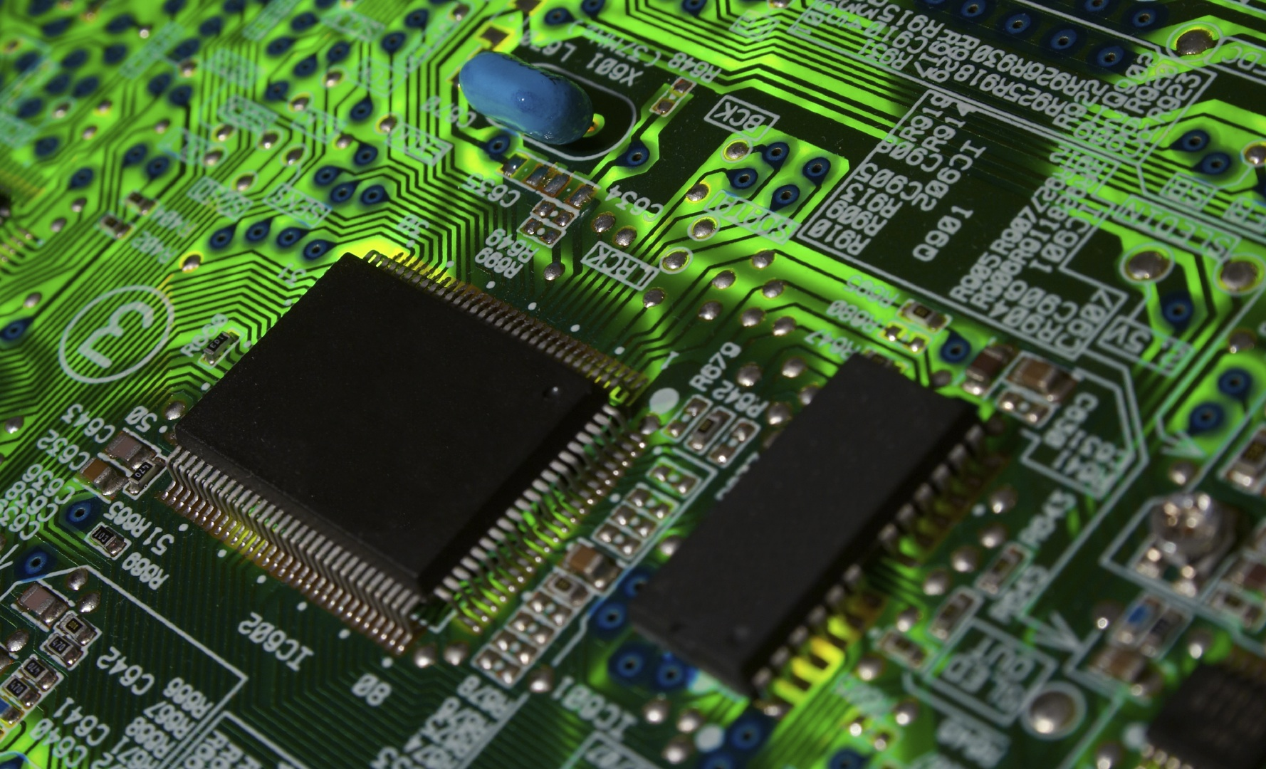 hight resolution of circuit board image