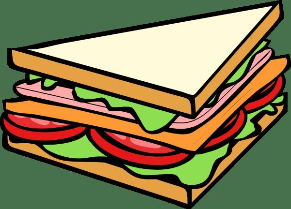 sandwich 3 clip art