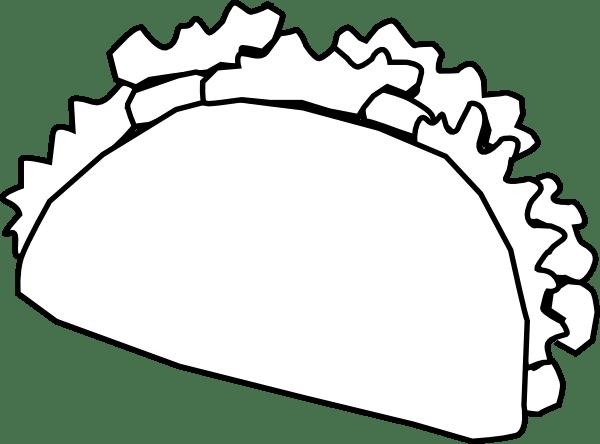 Download Taco Clip Art at Clker.com - vector clip art online ...