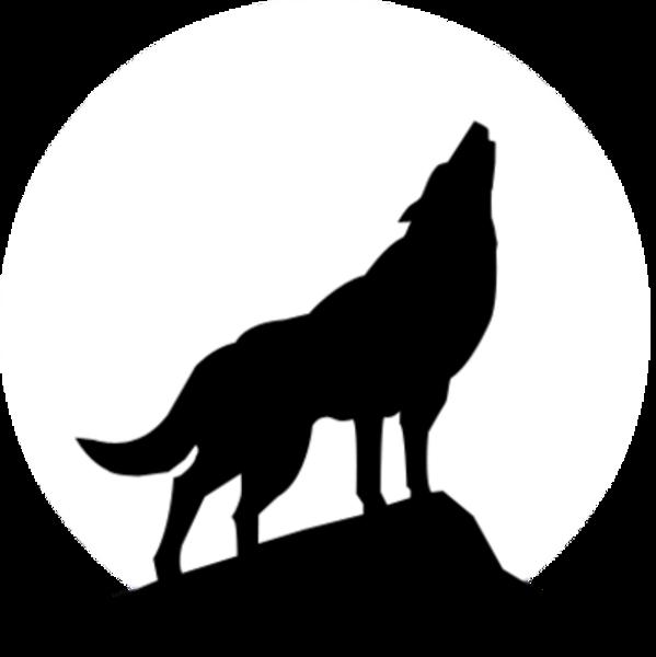 Wolf Silhouette Clip Art