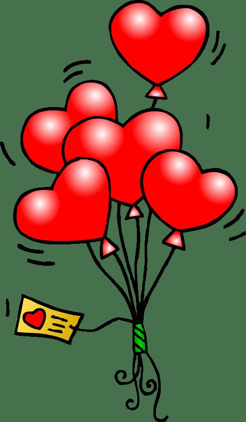 heart balloons t free