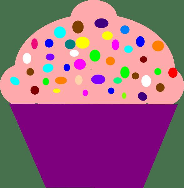 cupcake pink clip art