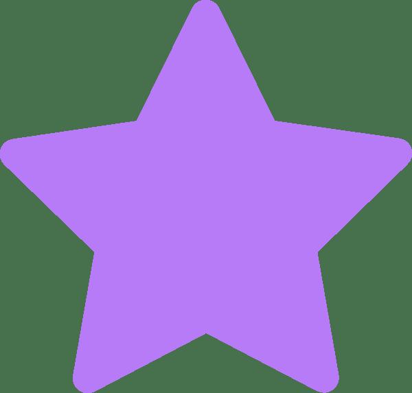 star-purple clip art