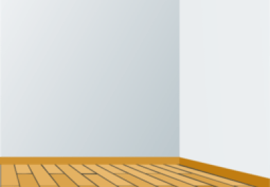 Empty Dining Room Clipart
