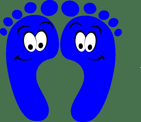 Brown Footprints Png Baby
