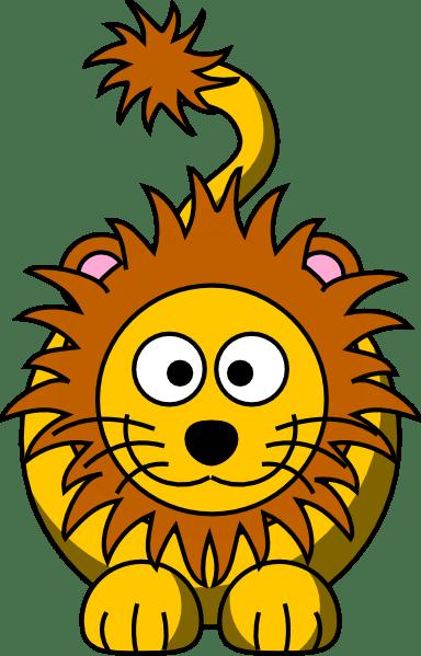 Cartoon Golden Lion Clip Art At Clker Com Vector Clip Art Online Royalty Free Public Domain