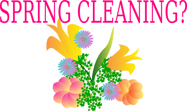 Spring Cleaning? clip art