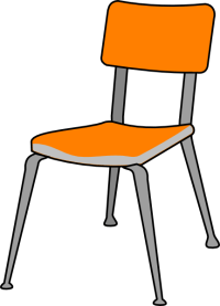 Student Chair Clip Art at Clker.com - vector clip art ...
