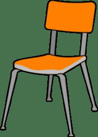 Student Chair Clip Art at Clker.com - vector clip art ...