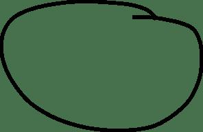 hand drawn circle clip