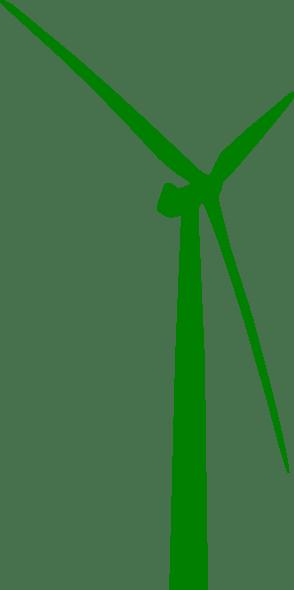 Wind Turbine Green Clip Art At Vector Clip Art
