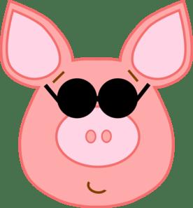 Cute Pink Pig Wallpaper Cool Pig Clip Art At Clker Com Vector Clip Art Online