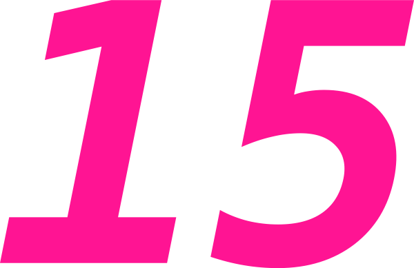 number 15 clip art cliparts