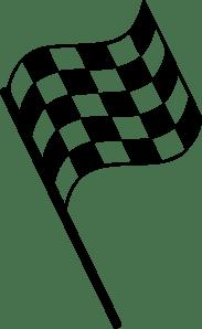 Finish Line Flag Pin Clip Art At Vector Clip