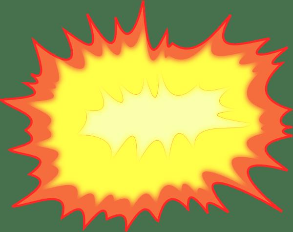 Explosion Clip Art at Clkercom vector clip art online