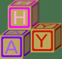Baby Blocks Pink Clip Art at Clker.com - vector clip art ...