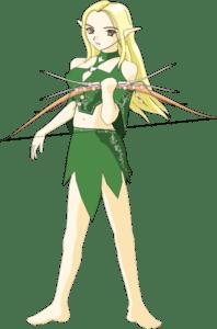 Elvish Archer Clip Art at Clkercom vector clip art