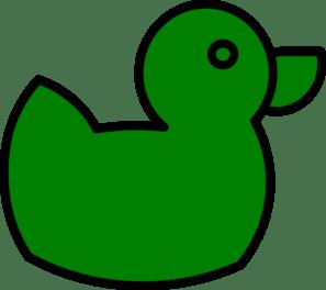 green duck clip art