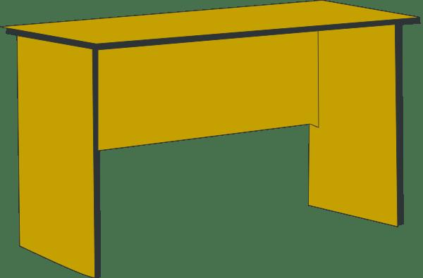desk clip art - vector