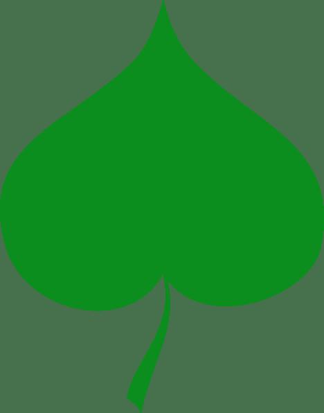 linden leaf clip art