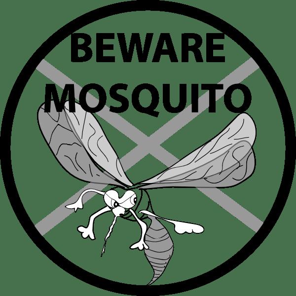 beware mosquito clip art