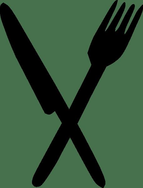 Knife Crossed Clip Art at Clkercom vector clip art