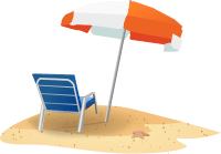 Beach Chair And Umbrella Clip Art at Clker.com - vector ...