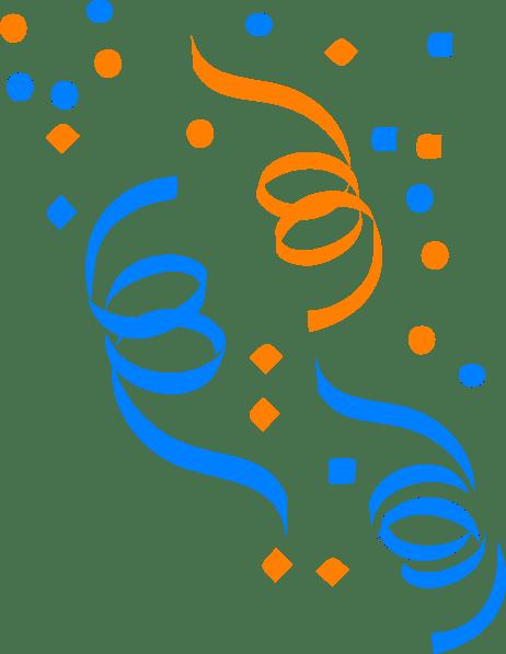 small confetti clip art
