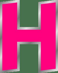Letter H Clip Art at Clker.com - vector clip art online ...