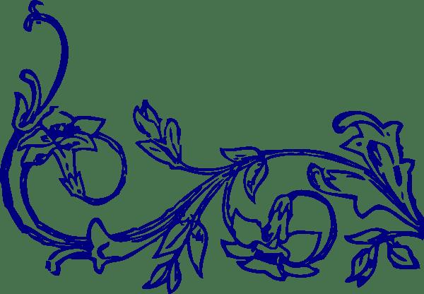 flowervine bottom clip art