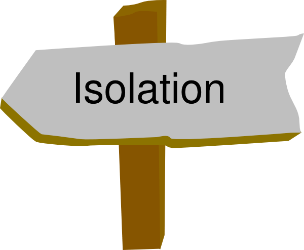 Image result for isolation clipart
