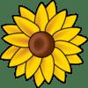 sun flower clip art