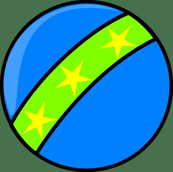 blue toy ball clip art