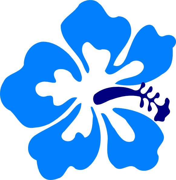 hawaiian gumamela clip art