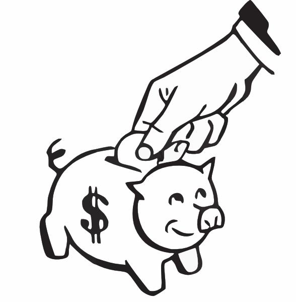I Save Rather Than Spend Money Clip Art at Clker.com